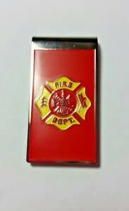 Ramsons Imports Fire Department Money Clip