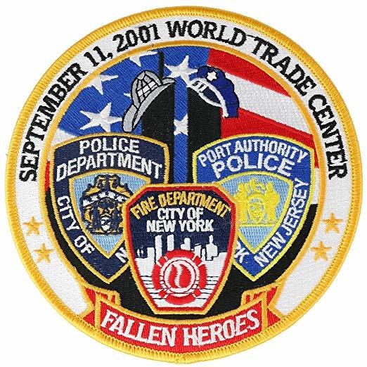"Fallen Hero 9-11 Patch 5"""