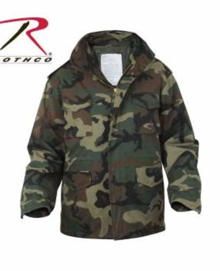 Camo M-65 Field Jacket
