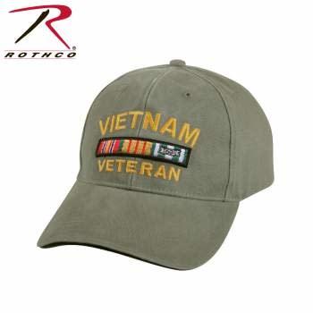 Rothco Vietnam Veteran Deluxe Vintage Low Profile Cap
