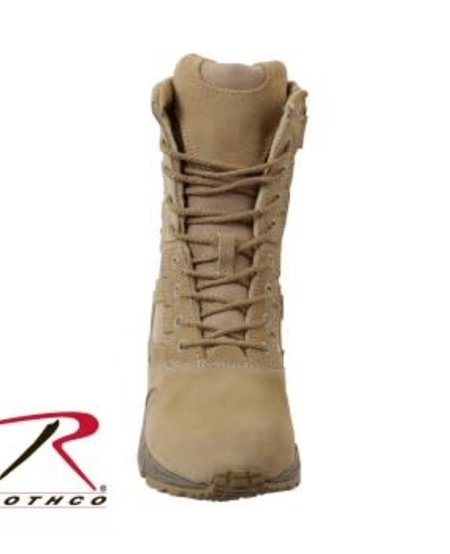 "Forced Entry 8"" Deployment Boots with Side Zipper"