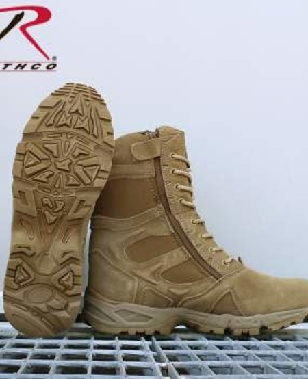 """Forced Entry 8"""" Deployment Boots with Side Zipper"""