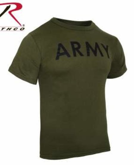 Olive Drab Military Physical Training Shirt