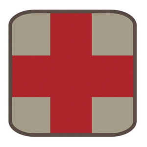 Fox Outdoor Products Square Medical Patch