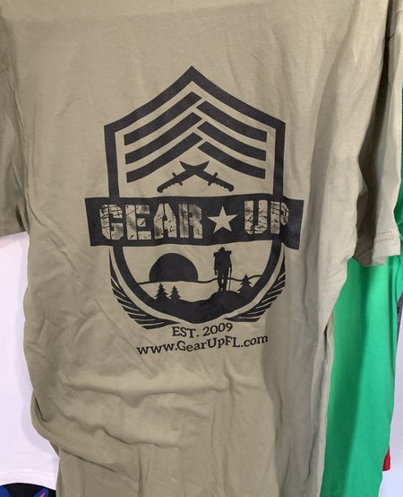 Olive Drab Gear Up T-Shirt