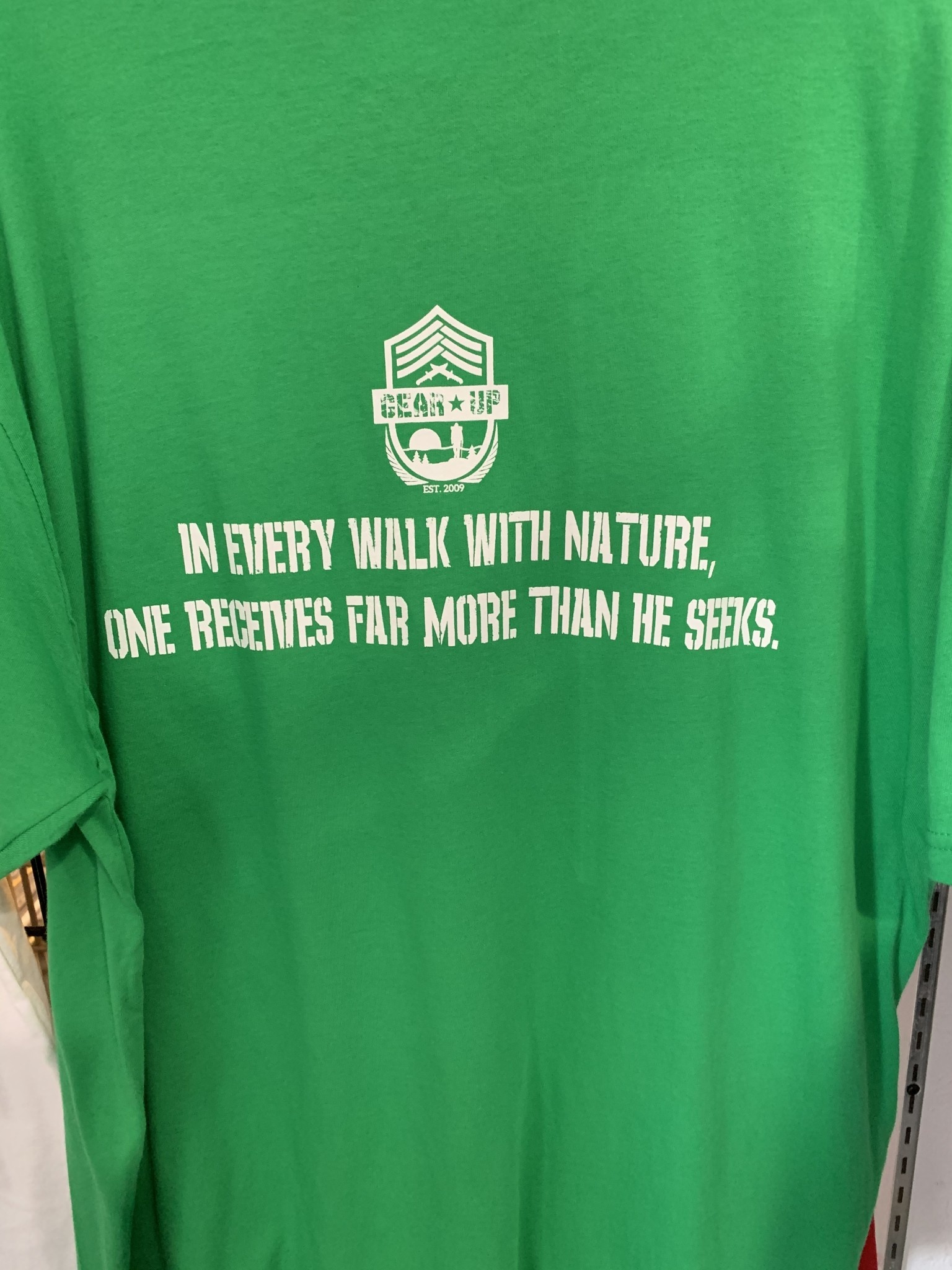 Gear Up Gear Up Nature Quote T-Shirt