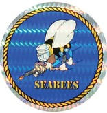 "Mitchell Proffitt Seabees 3"" Round Sticker"