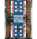 Mitchell Proffitt Operation Enduring Freedom Veteran Ribbon, Stars and Flag Decal