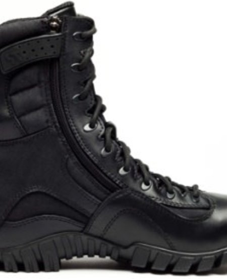 "Khyber TR960Z WP - Waterproof Lightweight Side-Zip Tactical Boot - Black - 8"""