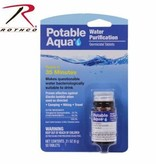 Rothco Potable Aqua Water Purification Tablets