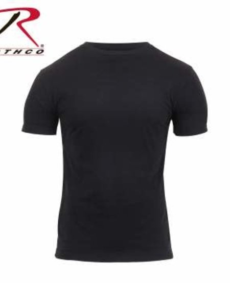 Athletic Fit Solid Color Military T-Shirt