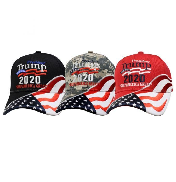 Cap Smith Trump 2020 USA Flag Hat