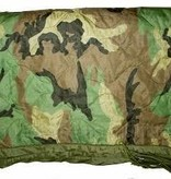 Military Issued Woodland Camo Poncho Liner - NEW