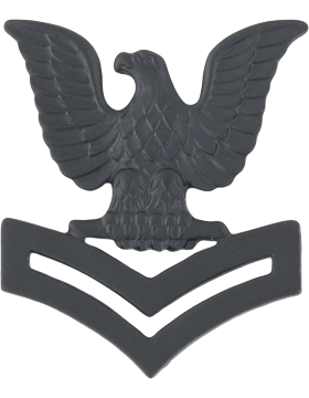 No Shine Insignia Navy Collar Device Insignia