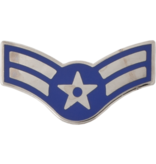 No Shine Insignia Air Force Enlisted and Officer Rank Insignia