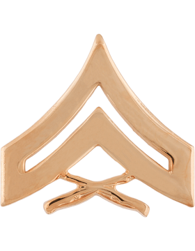 No Shine Insignia Marine Corps Enlisted and Officer Ranks Insignia