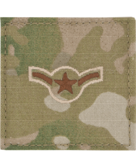 United States Air Force Enlisted and Non-commissioned Officer Uniform Patch