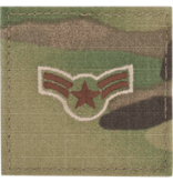 No Shine Insignia United States Air Force Enlisted and Non-commissioned Officer Uniform Patch