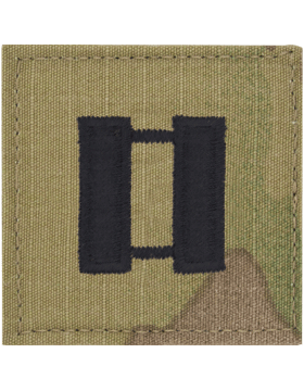 No Shine Insignia Commissioned Officer Rank Uniform Patch
