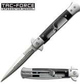 Tac-Force Straight Blade Spring Assisted Skull Knife