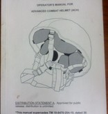 Operator Manual for Advanced Combat Helmet (ACH)
