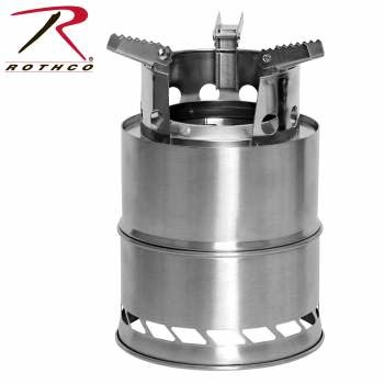 Rothco Stainless Steel Portable Camping/Backpacking Stove