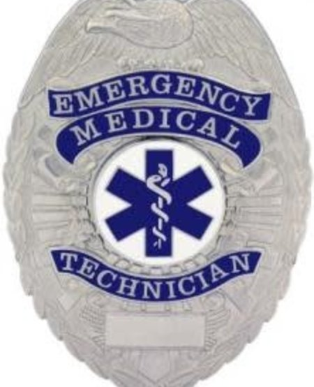 Emergency Mecical Technician Badge
