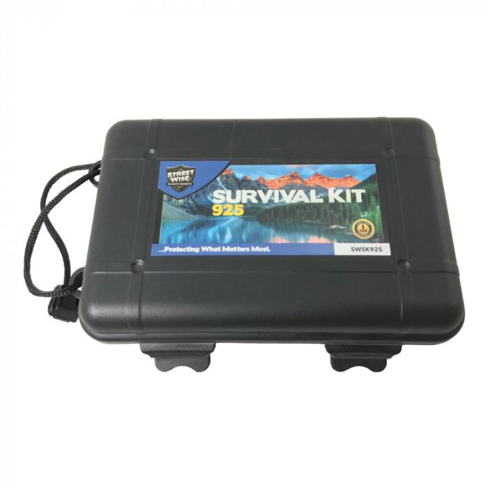 Street Wise 9 Item Survival Kit w/25 Functions