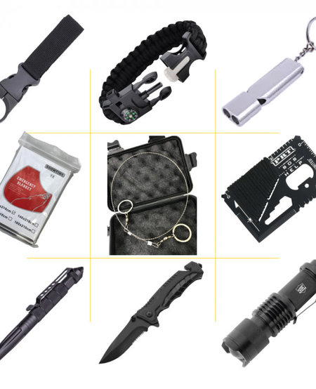 9 Item Survival Kit w/25 Functions