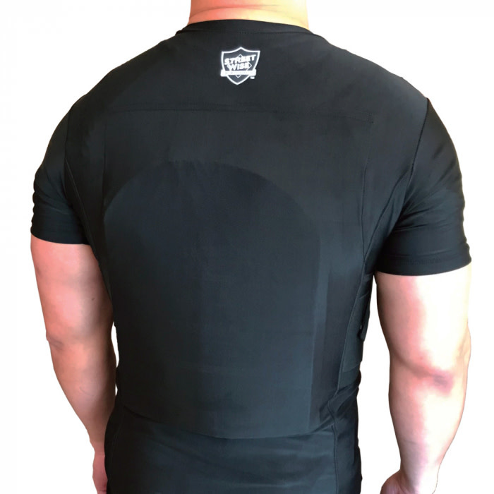 Street Wise Ballistic Plate Carrier T-Shirt w/Holster