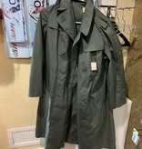 Military Issued Vietna Era Woman's Raincoat Quarpel - Size 12 R
