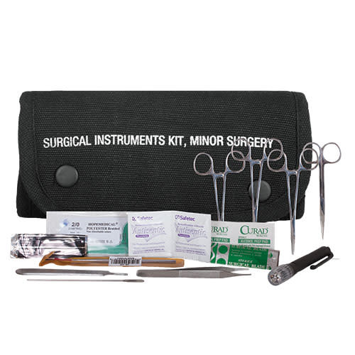 Fox Outdoor Products Surgical Kit Pouch w/contents