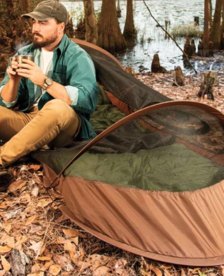 Pop up Bivy Tent 7 x 29 1/2 x 22