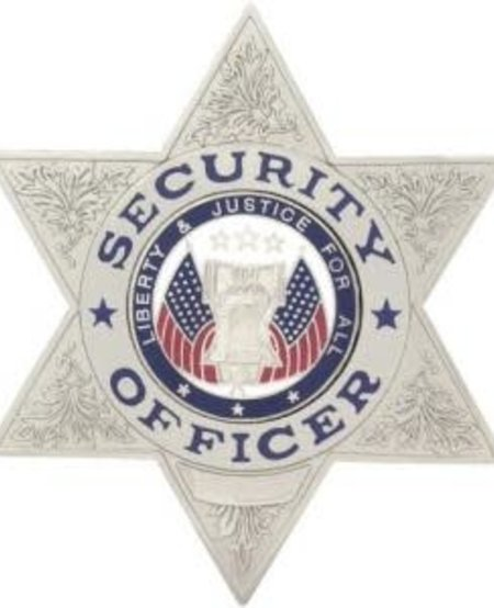 Security Officer 6 Point Star
