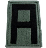 No Shine Insignia 1st Army Patch