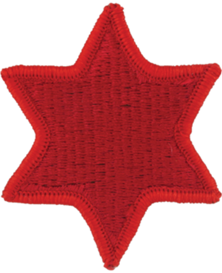 6th Infantry Army Patch