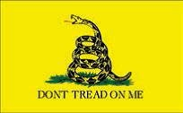 Ramsons Imports Don't Tread on Me Embroidered Single Sided 210D Poly 3'x5' Flag