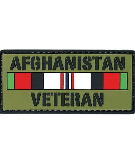 Afghanistan Veteran PVC Velcro Patch