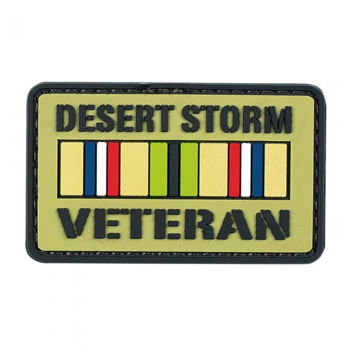 VooDoo Tactical Desert Storm Veteran PVC Velcro Patch