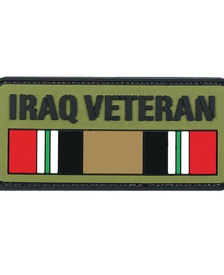 Iraq Veteran PVC Velcro Patch
