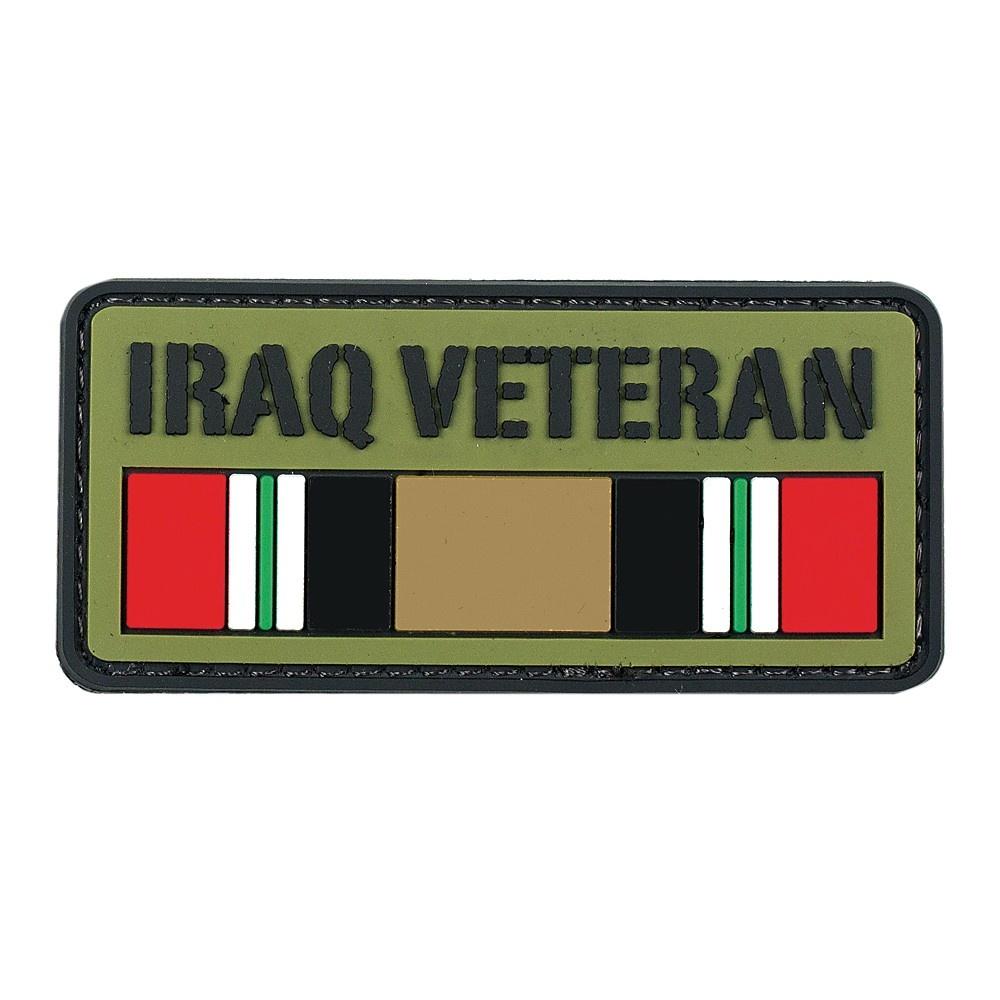 VooDoo Tactical Iraq Veteran PVC Velcro Patch