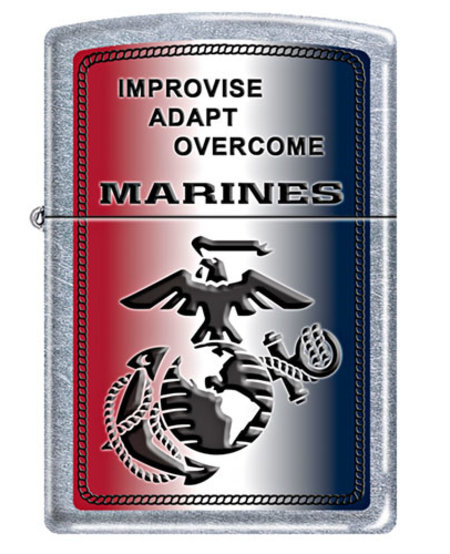 Marines Zippo - Improvise, Adapt, Overcome