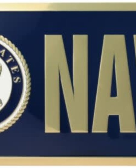 US Navy Emblem License Plate