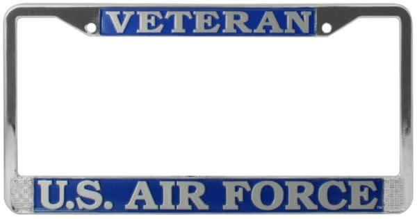 Mitchell Proffitt Veteran US Air Force License Plate Frame