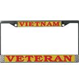 Mitchell Proffitt Vietnam Veteran License Plate Frame