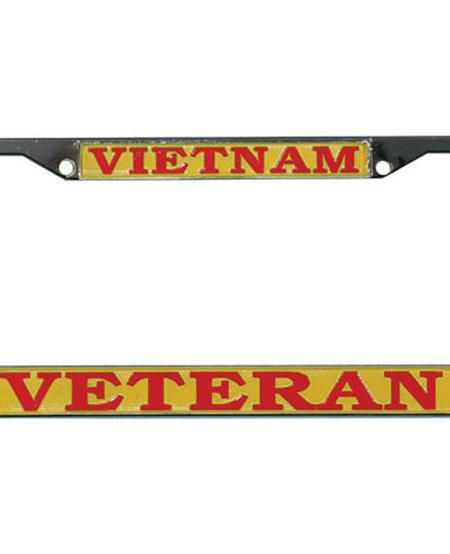 Vietnam Veteran License Plate Frame