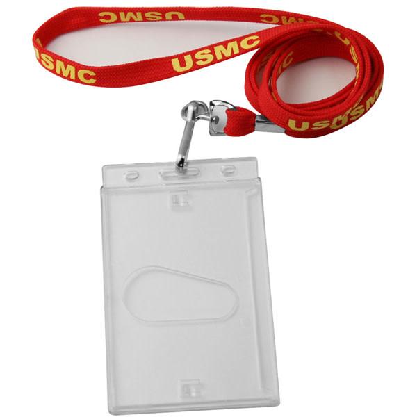 Mitchell Proffitt Tubular Lanyard w/Hard Case Badge Holder