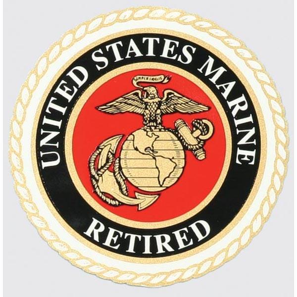 Mitchell Proffitt US Marine Retired Window Decal