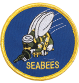 Military Seabees Round Patch