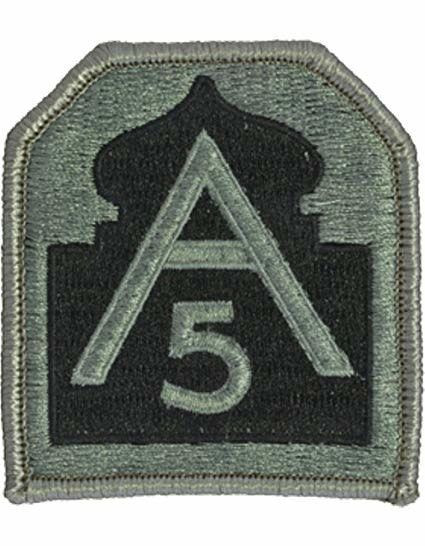 Military 5th Army Patch